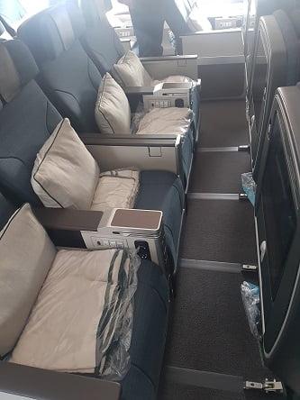 קתאי פסיפיק איירבוס A350-1000 מחלקת תיירים