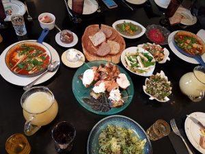 ארוחת בראנ'ץ אצל שף דורון בר און
