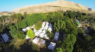כפר האוהלים בחמת גדר
