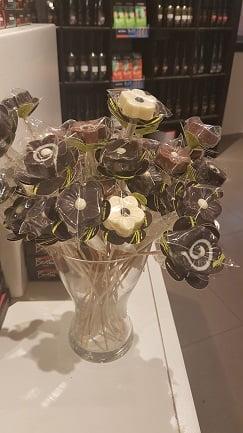 פרחי שוקולד של דה קרינה