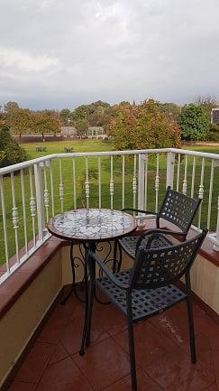הנוף מהחדר מלון פסטורל כפר בלום