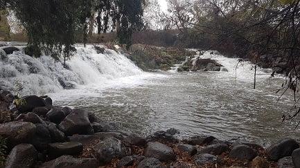 מפל סכר הירדן כפר בלום