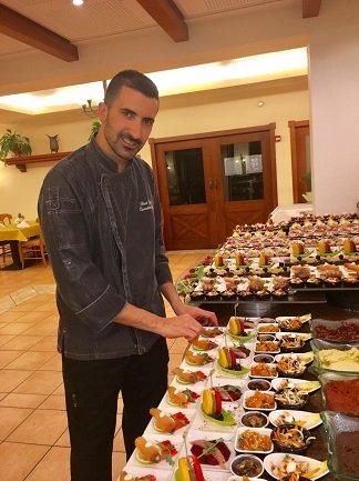 שף אוהד איבגי מלון פסטורל כפר בלום