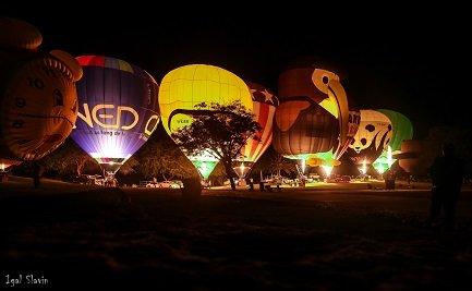 פסטיבל כדורים פורחים (צילום: יגאל סלבין)