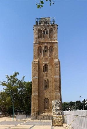 רמלה - המגדל הלבן (צילום: ישראל פרקר)