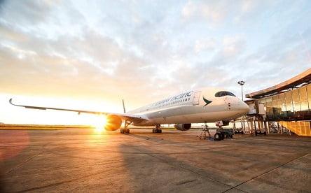 קתאי פסיפיק מציגה את איירבוס A350-1000