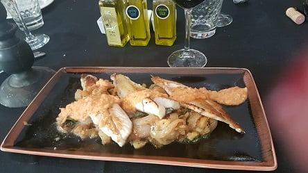 דג בס על הפלנצ'ה