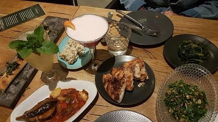 מנות ראשונות - מסעדת מאפו