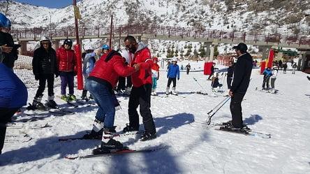 שיעור סקי בחרמון