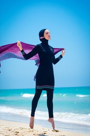 sunway בגדי ים חוסמי קרינה (צילום: מירי דוידוביץ)