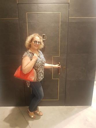 דלת רשפים מצופה סלייט-לייט
