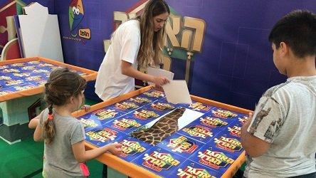 הפנינג האתגר הגדול לילדים בלבד של ערוץ הופ בישפרו פלאנט בבאר שבע( צילום יחצ)