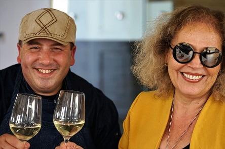 עם השף מריאנו שיינקמן (צילום: נורית פלד)