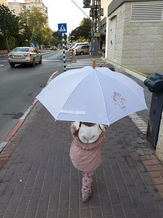 מטריות קסומות לילדים
