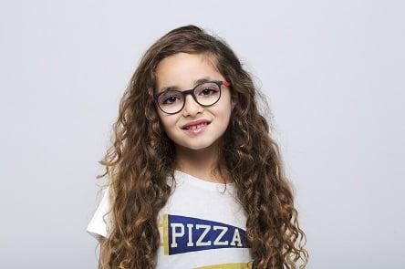 """משקפי ראייה לילדים ברשת אופטיקנה (צילום: יח""""צ)"""
