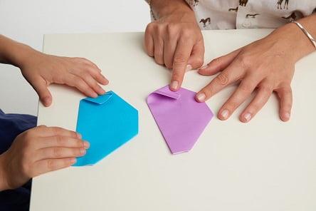 אוריגמי (צילום: paul jakson )