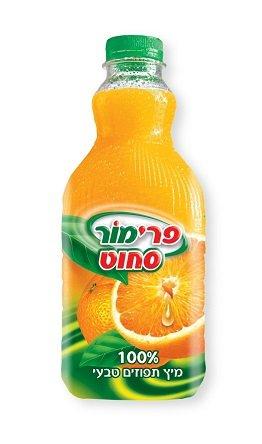 מיץ תפוזים סחוט טבעי פרימור (צילום: עמית שטראוס)