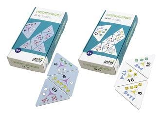 תילתן - סדרת משחקי דומינו משולשים (צילום: חברת תילתן)
