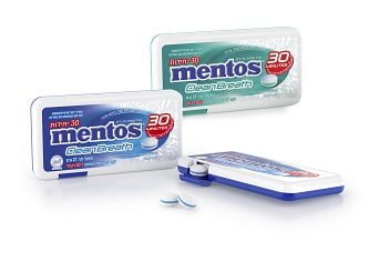 Mentos CleanBreath (צילום חברת פרפטי ואן מלה)