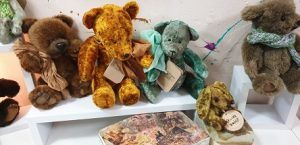 """תערוכת דובים עמותת יונטי ארט (צילום יח""""צ)"""