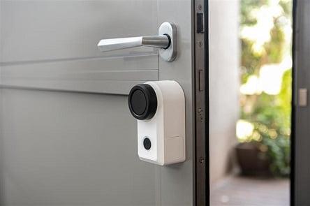 DOORe מנעול ופעמון חכם לבית צילום מתוך הבית (צילום: דרור כץ)