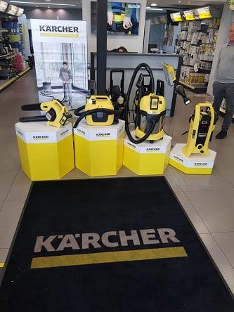 חברת KARCHER השיקה בימים אלו סדרה של מכשירי ניקוי