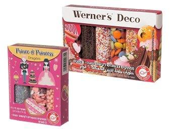 וורנר - ערכות סוכריות לקישוט עוגות וקינוחים (צילום : חן אייזנקרפט סטודיו sell360)