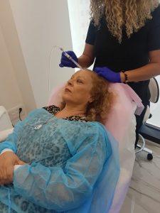 טיפול בלחץ אוויר במרכז להשתלת שיער ihair