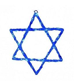 """נורות מגן דוד (צילום יח""""צ)"""