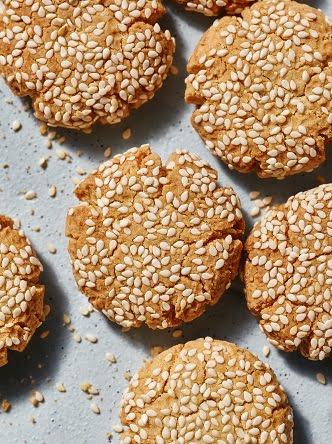 מתכון עוגיות טחינה ושקדים (צילום: דן פרץ)
