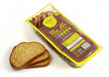 ביכורים מזון ומאפה - לחם פשתן (צילום: אייל קרן)