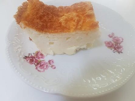 עוגת גבינה קלה להכנה – ללא סוכר וללא גלוטן