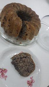 עוגת פרג ללא סוכר