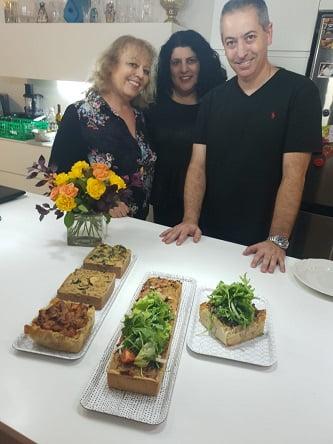 עם שף גולן ישראלי והקישים
