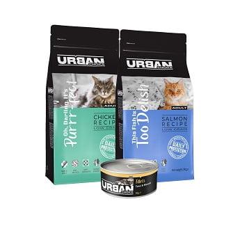 URBAN CHOICE לחתולים (צילום: בועז נובלמן)