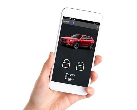 """חברת קוברה משיקה את MKEY מפתח רכב דיגיטלי באמצעות הנייד האישי (צילום: יח""""צ)"""