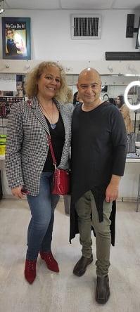 עם פליקס שטיין (צילום: איילת שאשא)