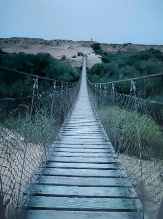 גשר החבלים פארק הבשור