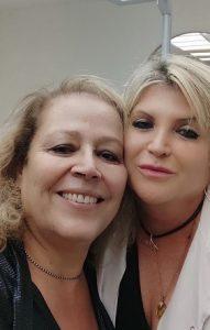 אחרי טיפול בקפסולת ג'ל ספירולינה כחולה, ללא איפור עם דורית